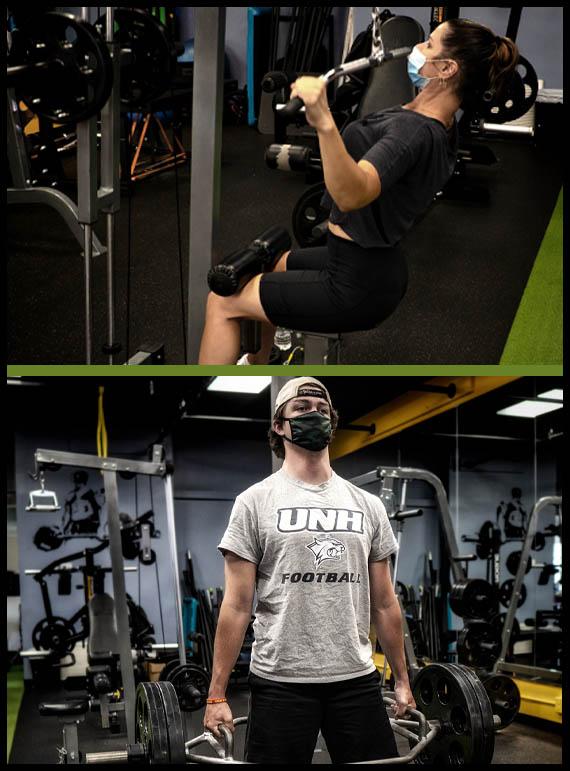 utg personal training athletes executing their lifting programs