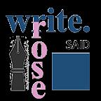 Write.Said Rose Logo