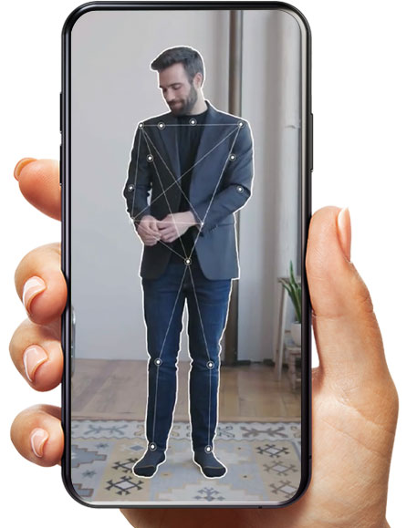 cloth size measure app