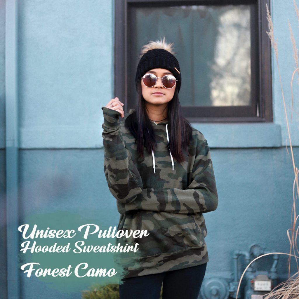 forest camo indy hoody