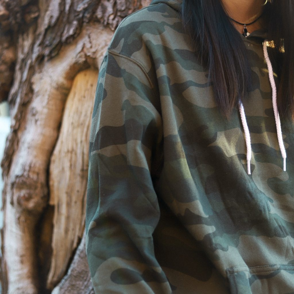camo independent trading company hoodie