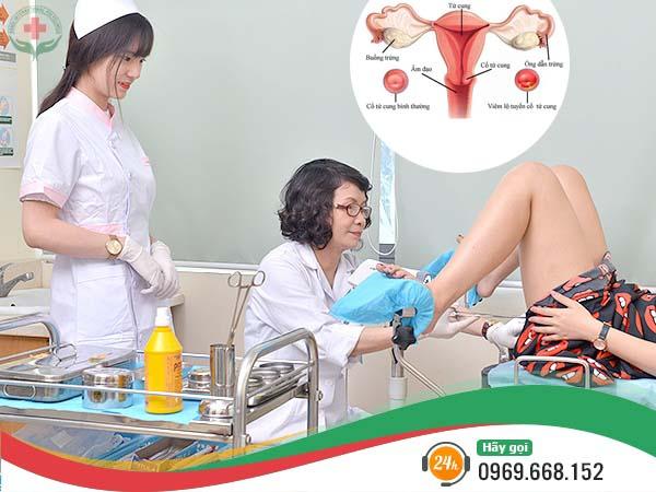 nguyên nhân Viêm lộ tuyến cổ tử cung