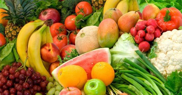 rau xanh hoa quả