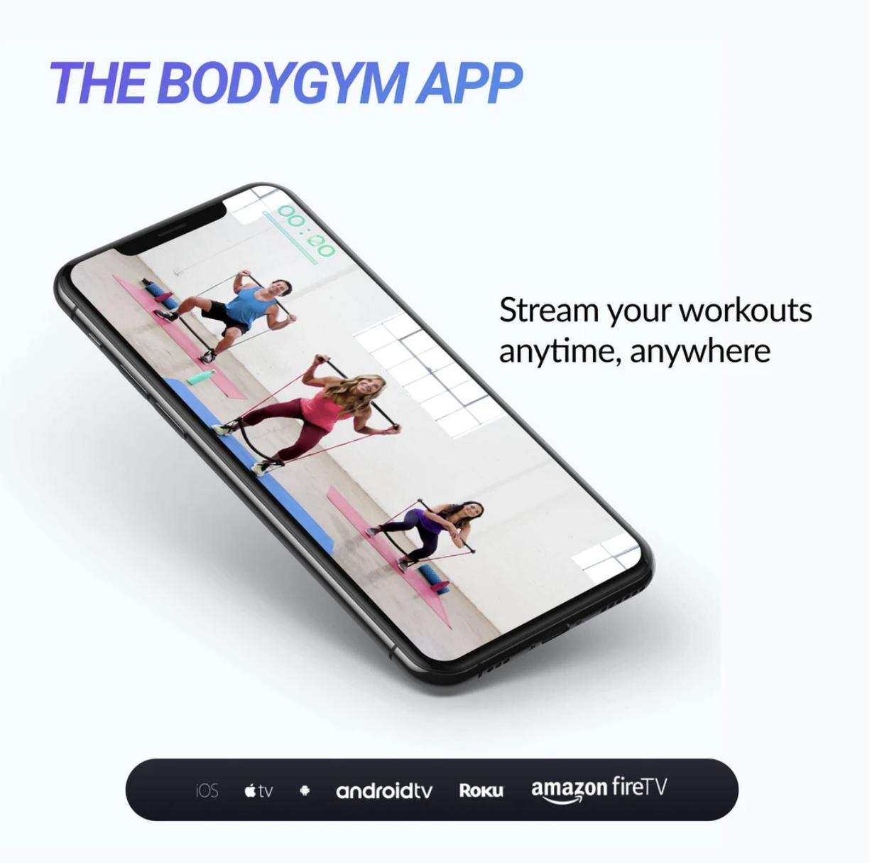 bodygym workout app