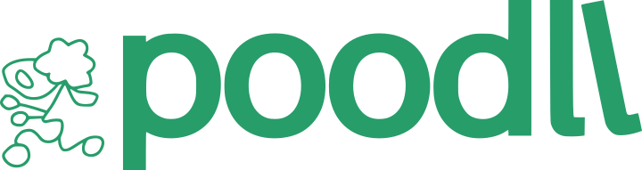 Poodll logo green