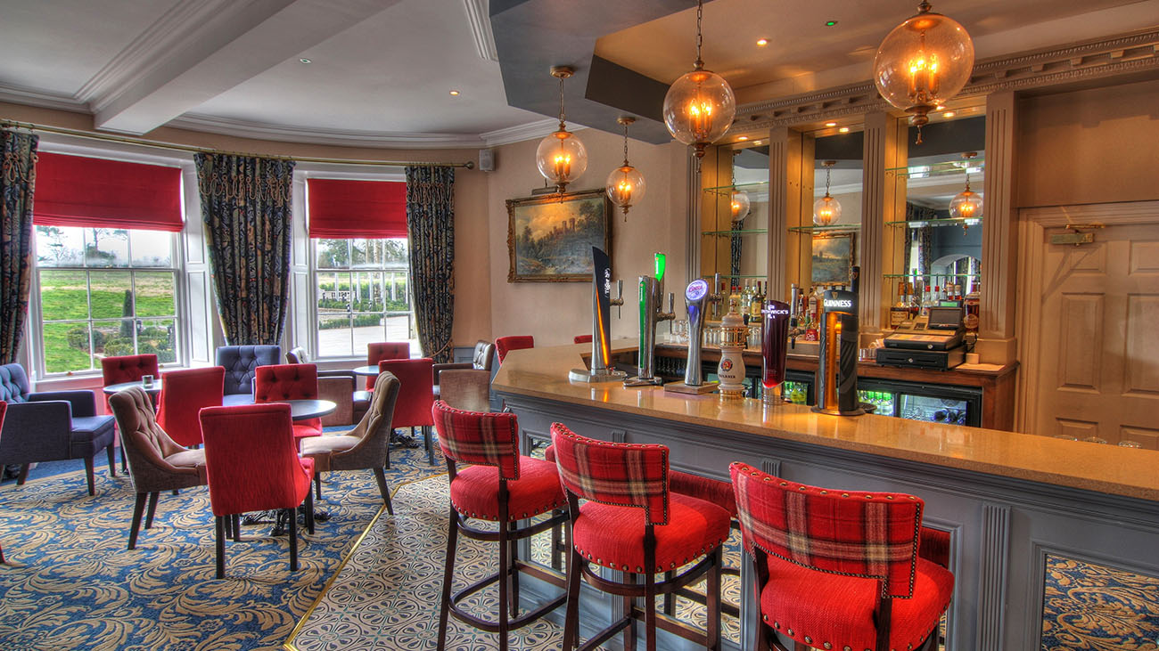 Bellingham Castle Bar Area