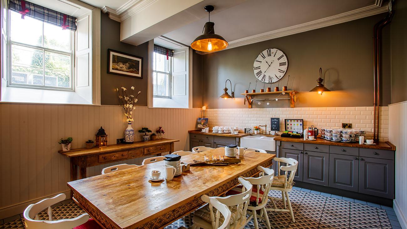 Bellingham Castle Kitchen