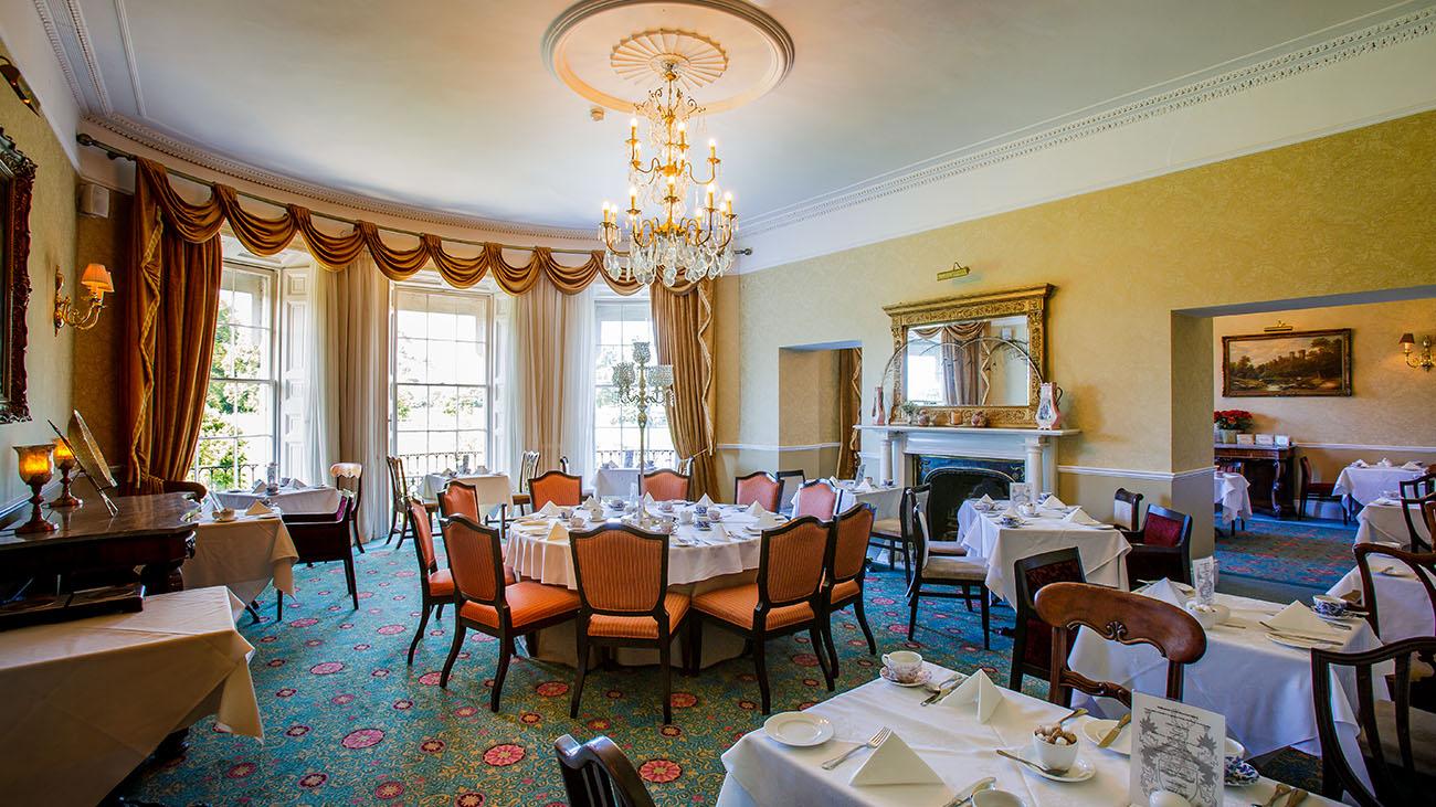 Bellingham Castle Dining Room