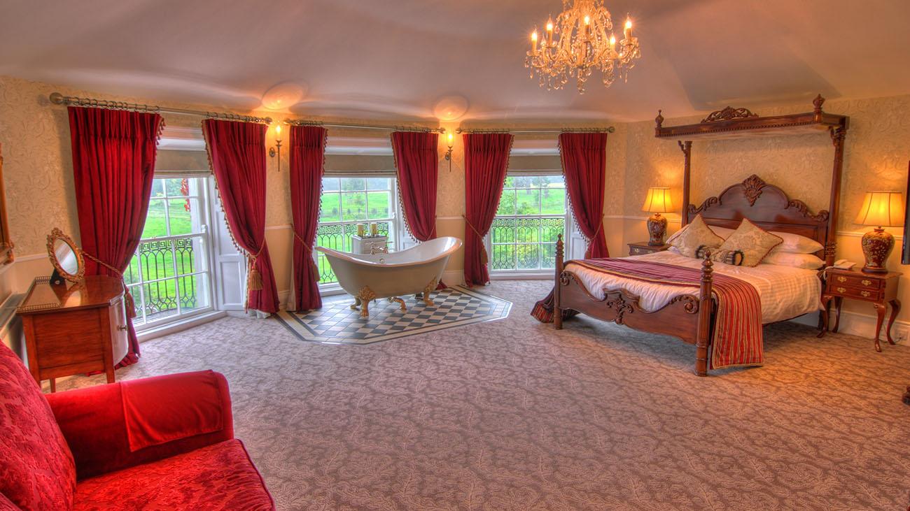 Bellingham Castle Bedroom