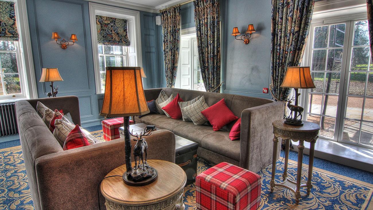 Bellingham Castle Living Room