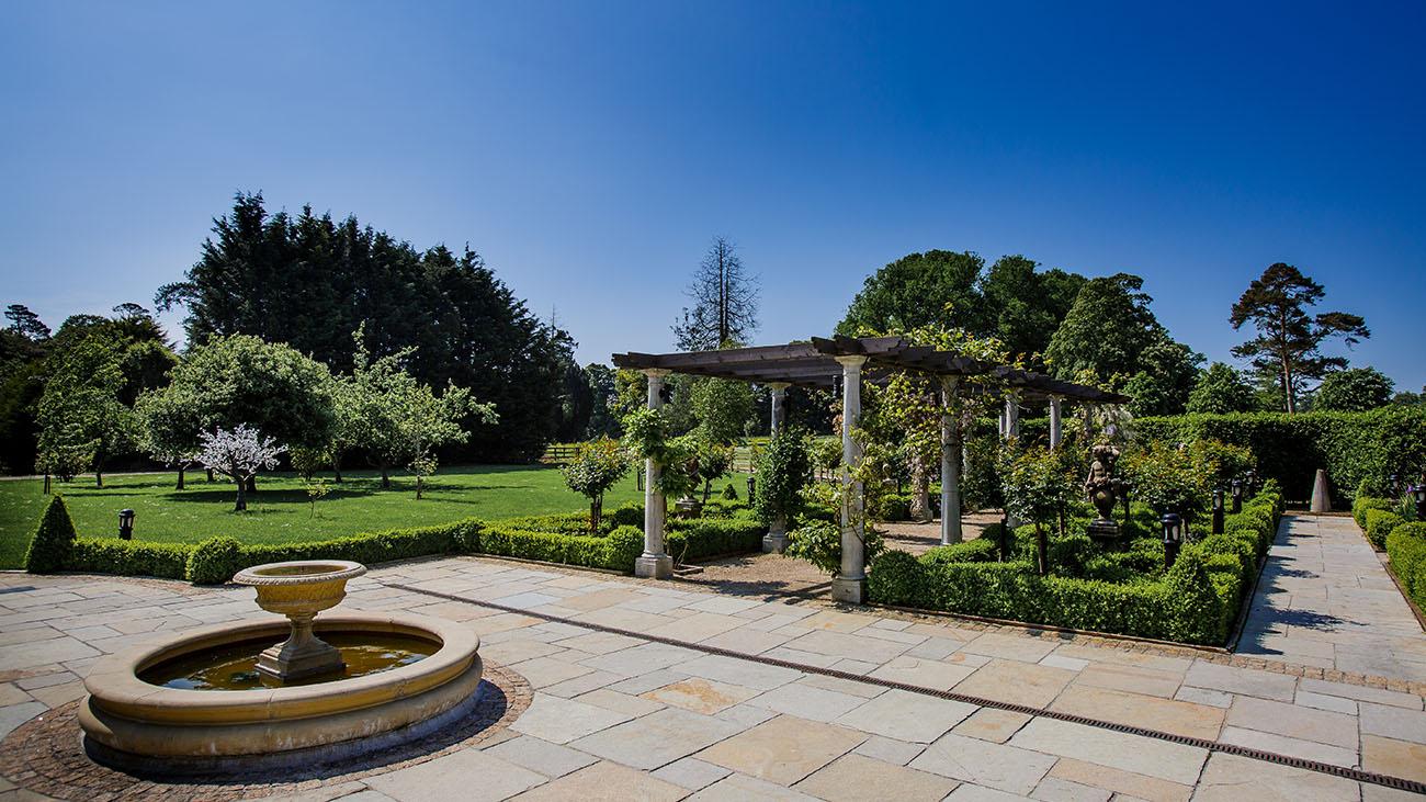 Bellingham Castle Garden