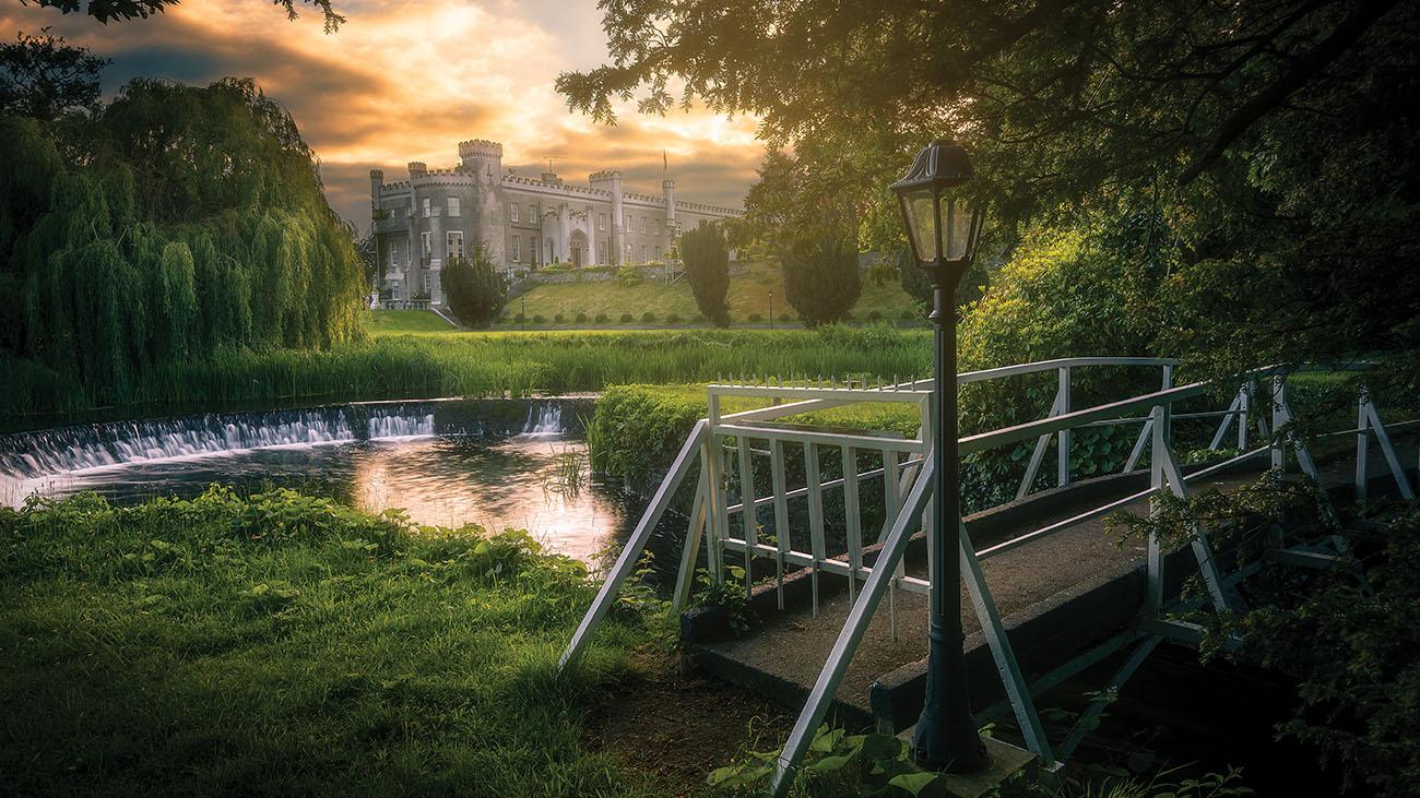 Bellingham Castle Lake and Gardens