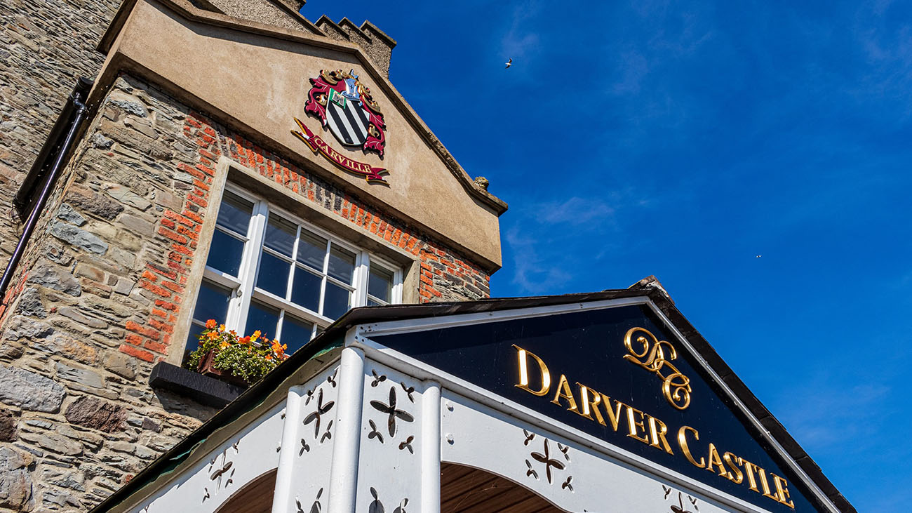 Darver Castle Front Signage
