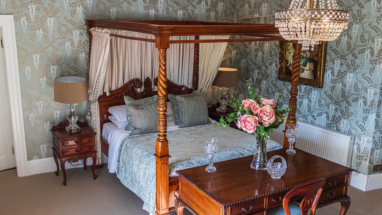 Darver Castle Bedroom