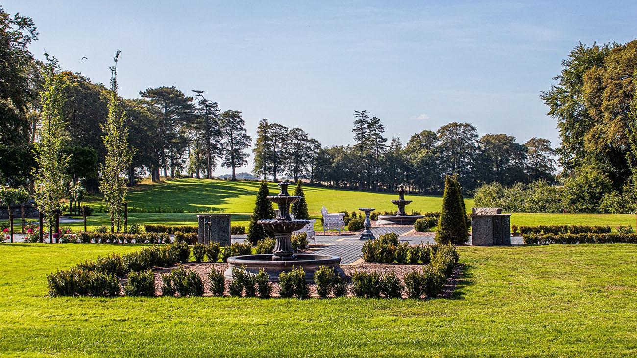 Darver Castle Garden
