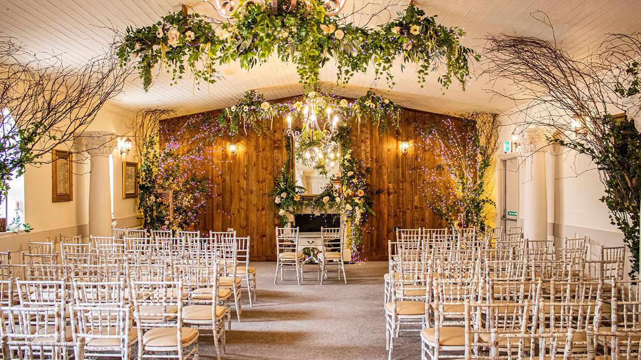 Darver Castle Civil Ceremony Room