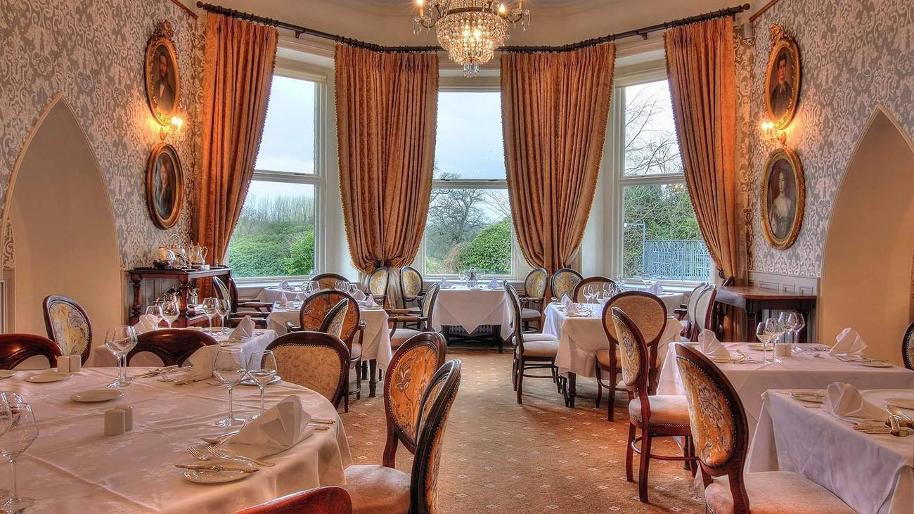 Cabra Castle Breakfast Room