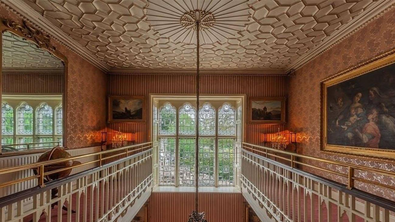 Cabra Castle Hallway