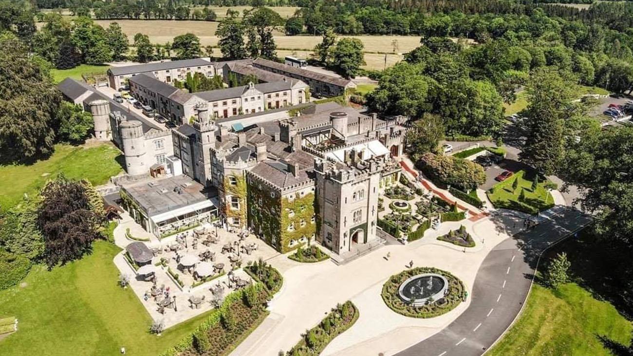 Cabra Castle Aerial Drone Image