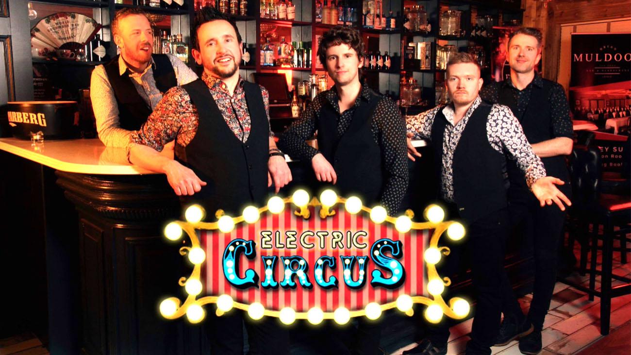 Electric Circus Wedding Band