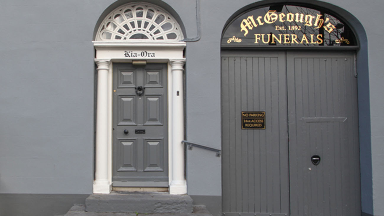 McGeoghs Funeral Directors Front