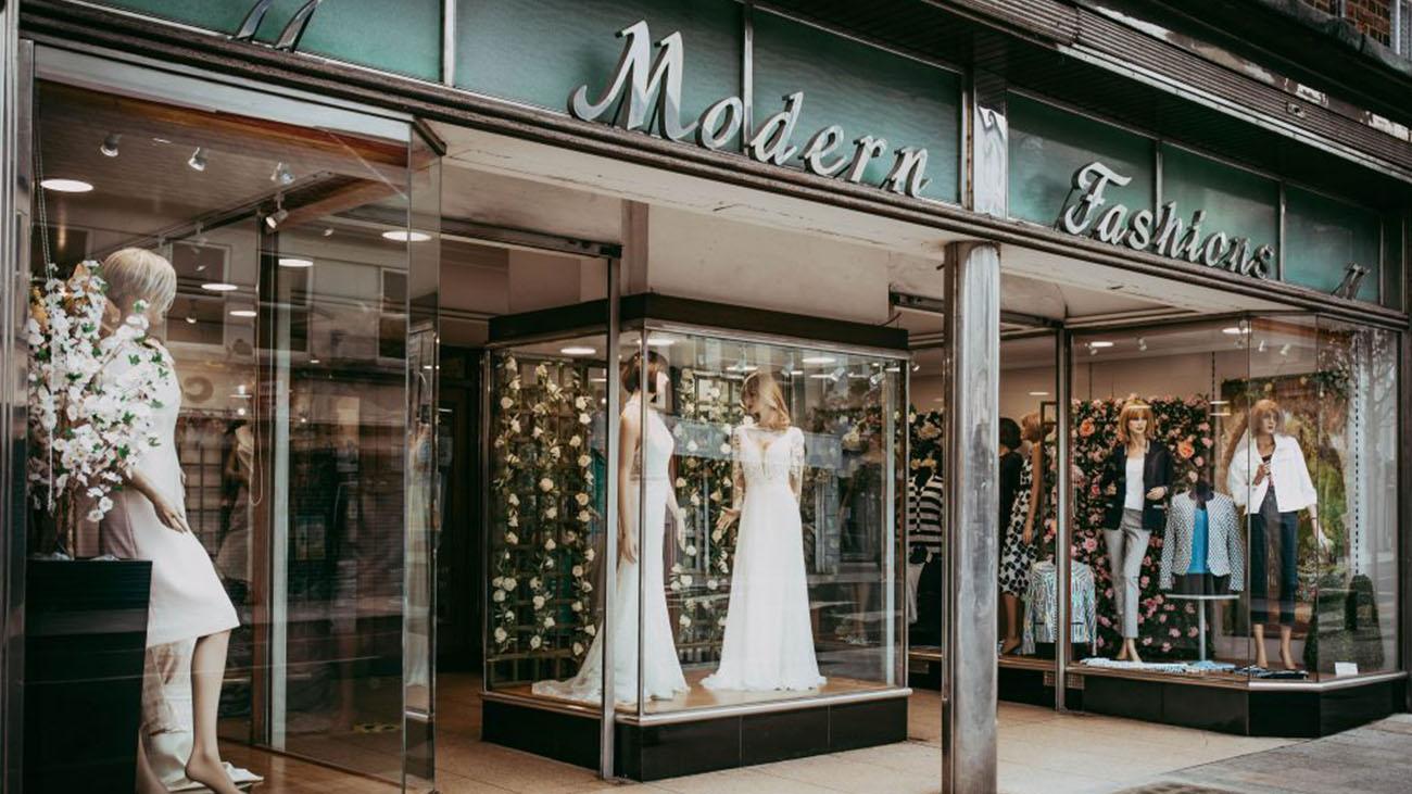 Modern Fashions Dundalk Shop Front