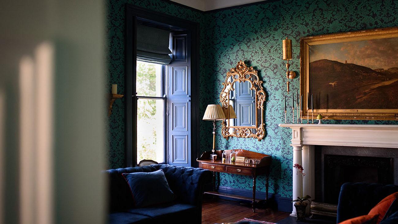 Boyne Hill House Living Room
