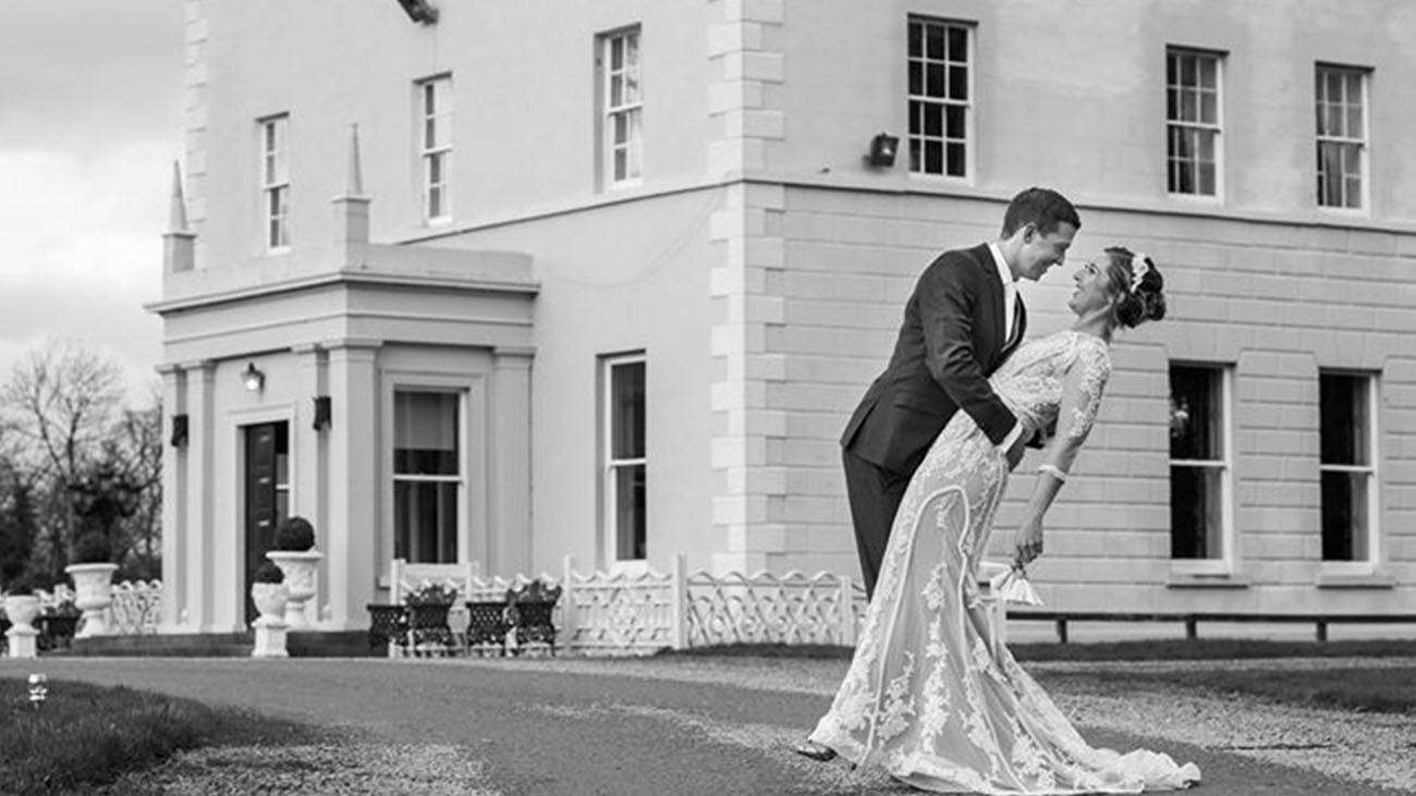 Boyne Hill House Bride and Groom