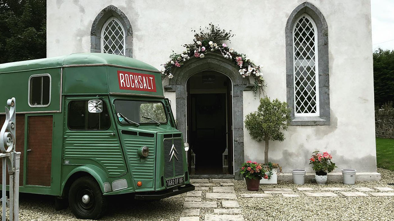 Rocksalt Wedding Truck