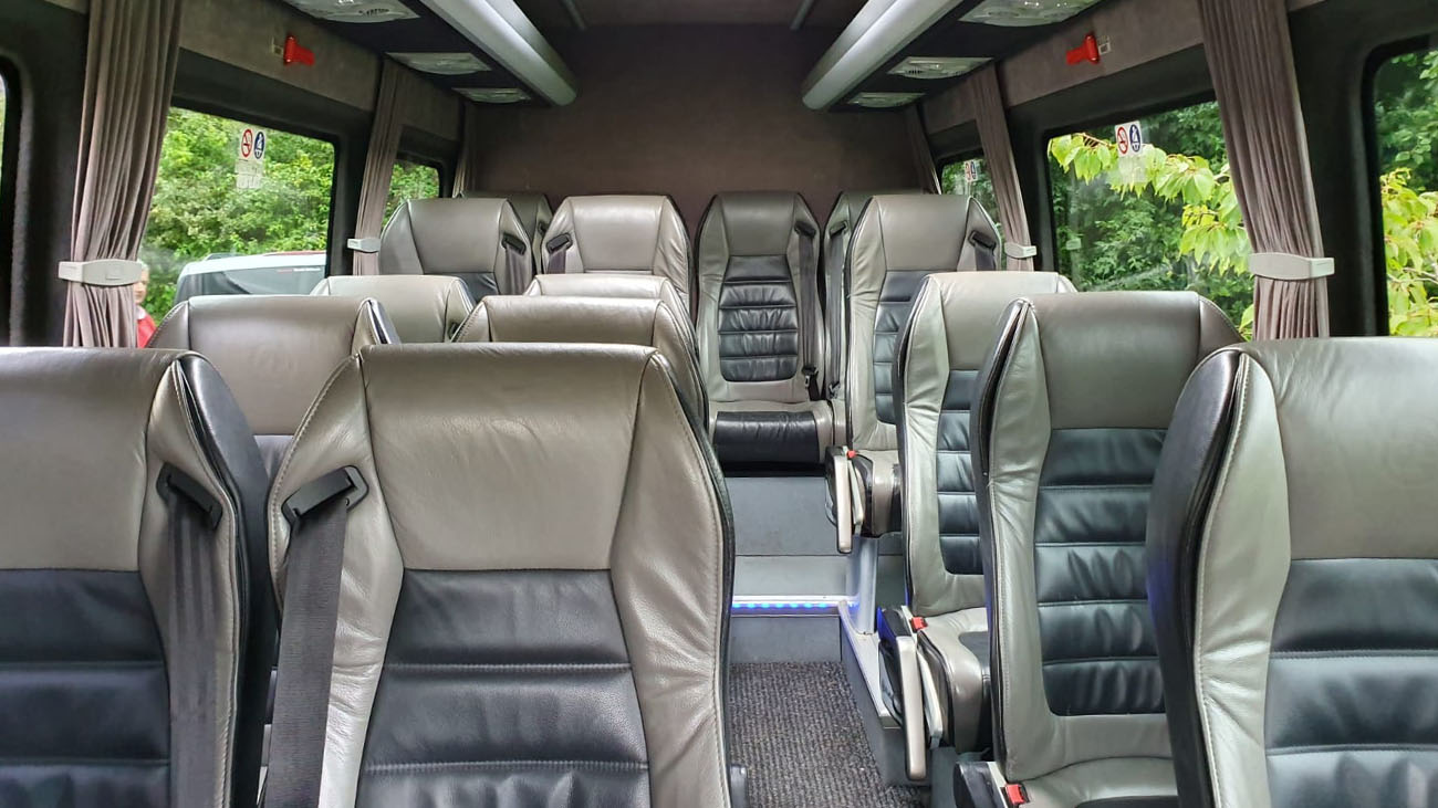 Occasion Cars Wedding Bus Inside