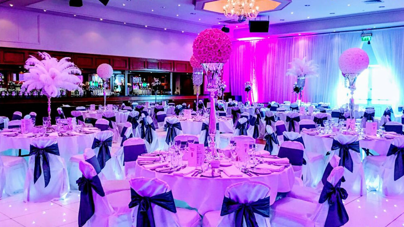 Audrey's Wedding Occasions Function Room Decor