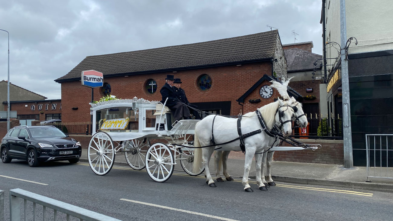 Quinn's Funeral Homes Horse and Carriage