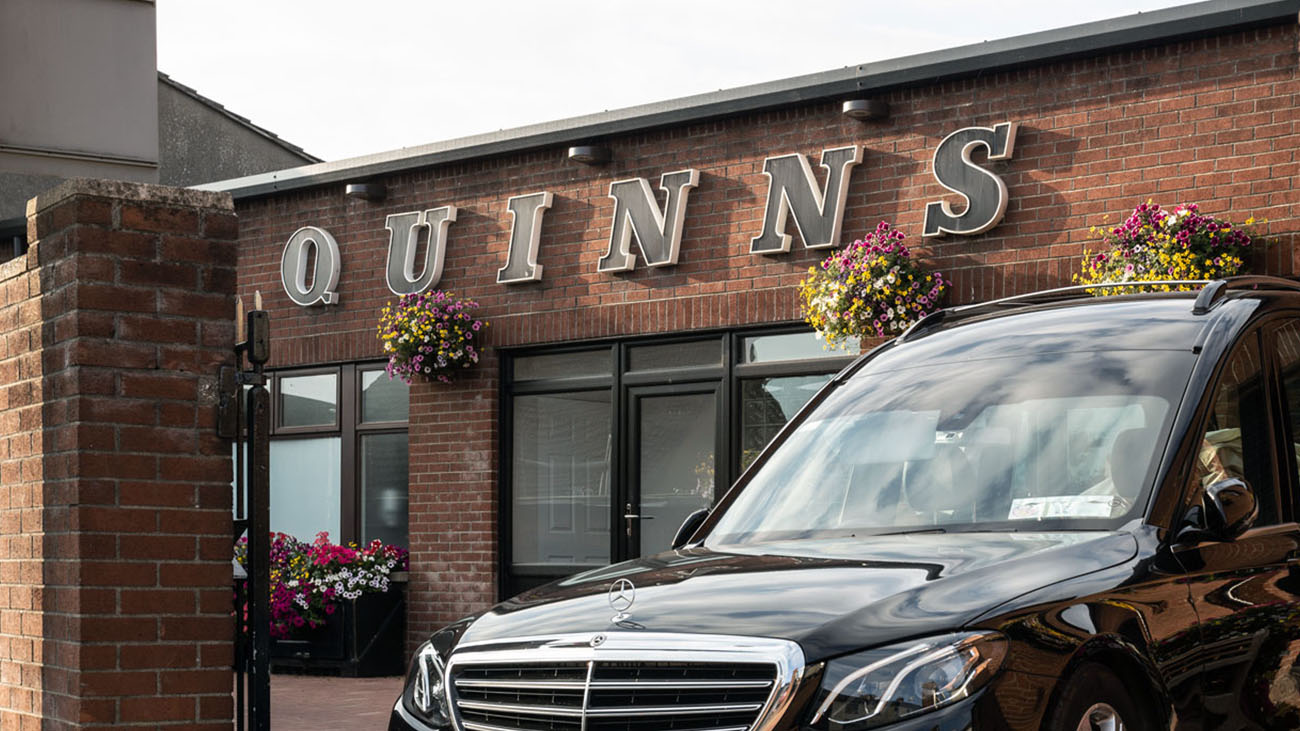 Quinn's Funeral Homes Front