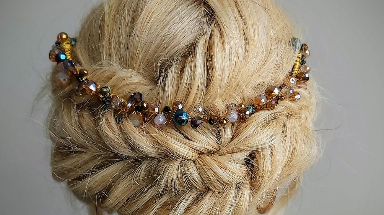 Cara Cameron Hair Bride
