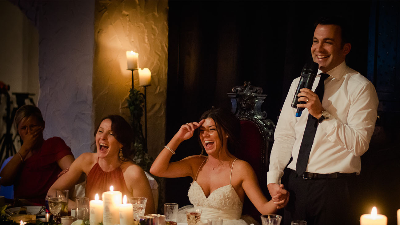 Photographic Memory Bride and Grooms Best Mans Speech