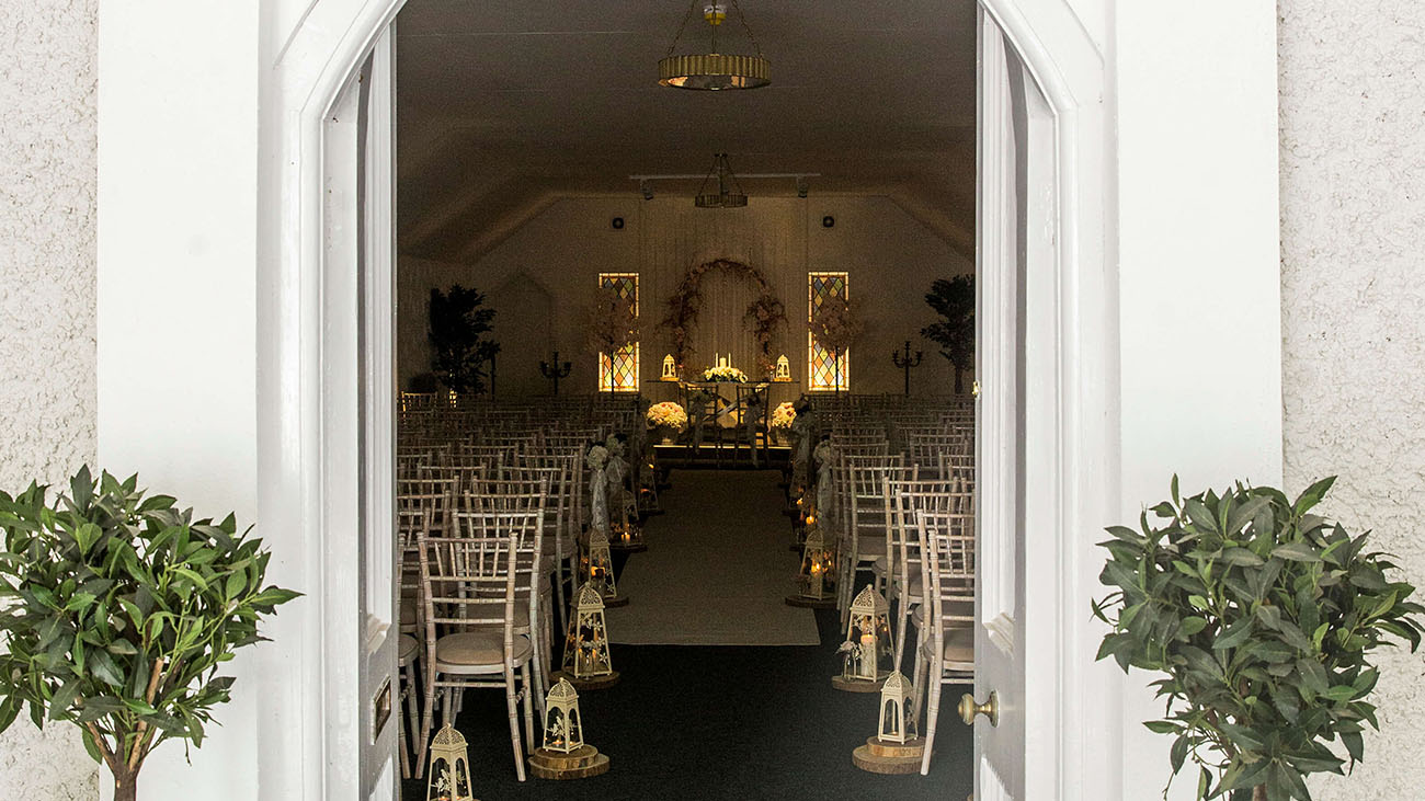 Rathsallagh Country House Civil Ceremony Room