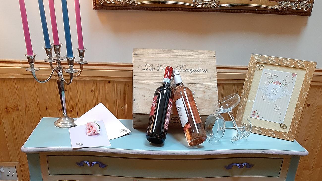 Kathryn Smith Celebrant Wine Bottles