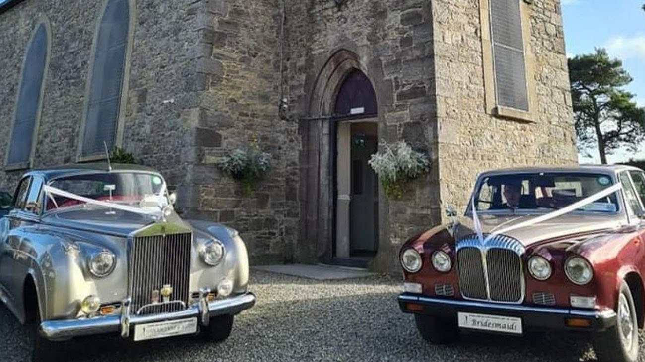 Gerrard's Church Wedding Cars and Front