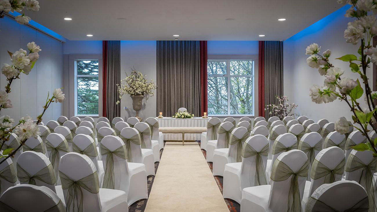 Clayton Hotel Silver Springs Civil Ceremony Room