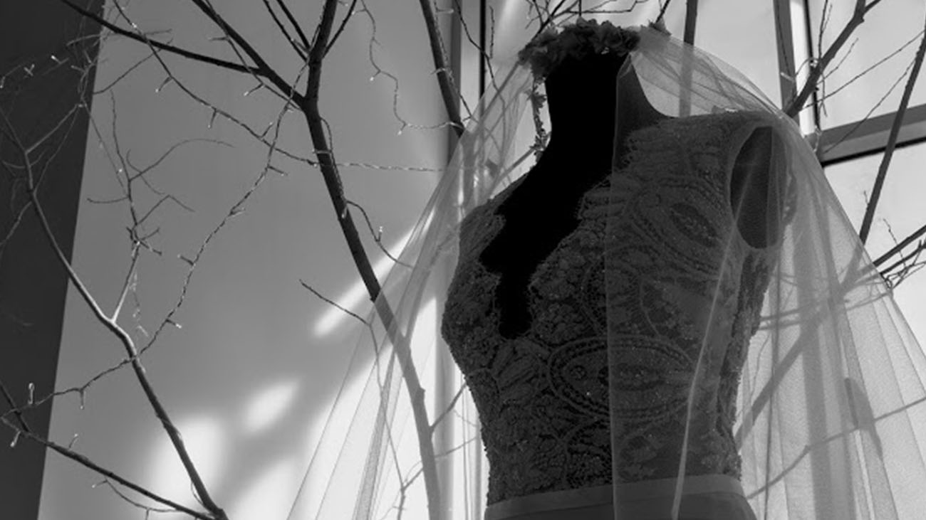 The White Room Wedding Dress and Veil