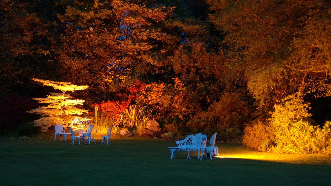 Cashel House Hotel Evening Garden