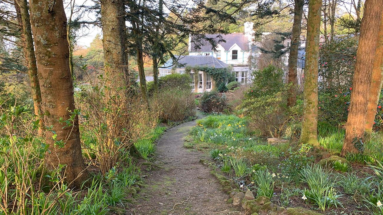 Cashel House Hotel Pathway Garden