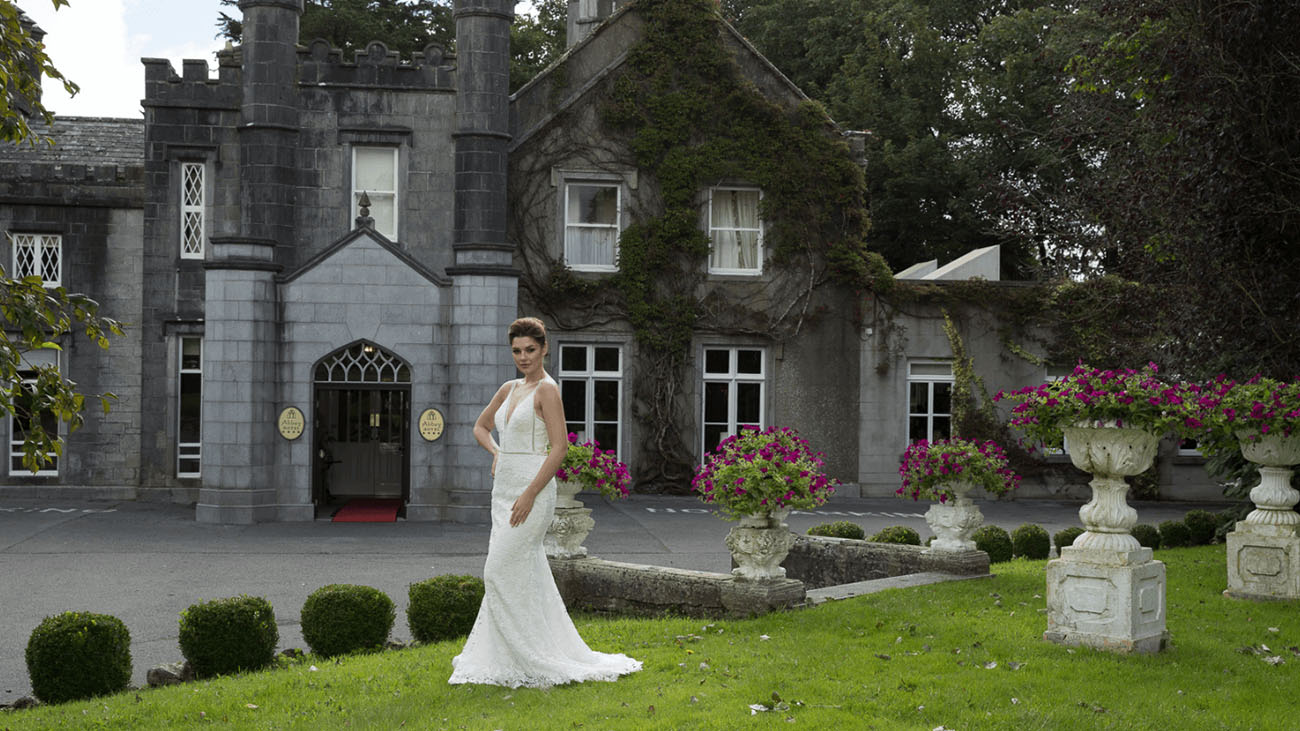 Abbey Hotel Entrance Bride