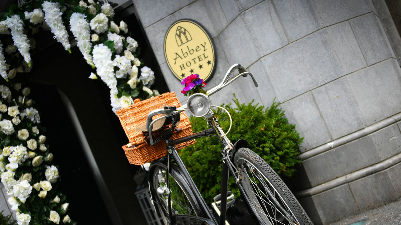 Abbey Hotel Decor Bike