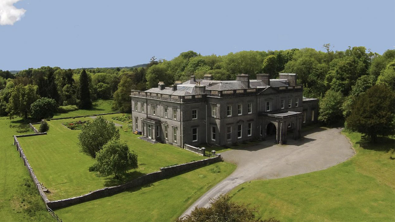 \temple House Aerial Image