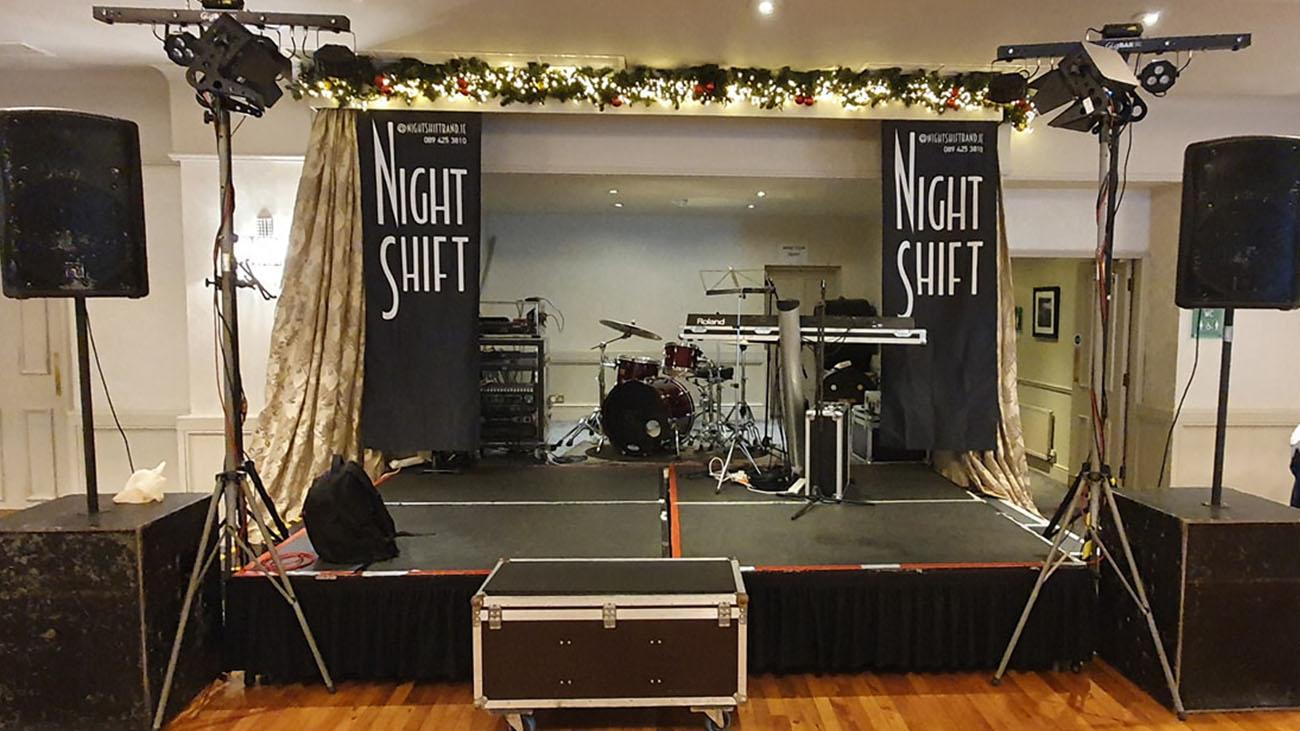 NightShift Band Wedding