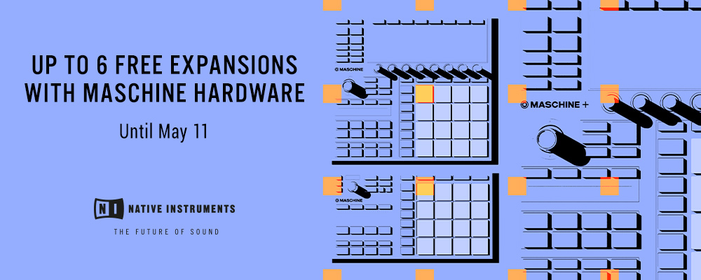 Free Expansions with MASCHINE Hardware