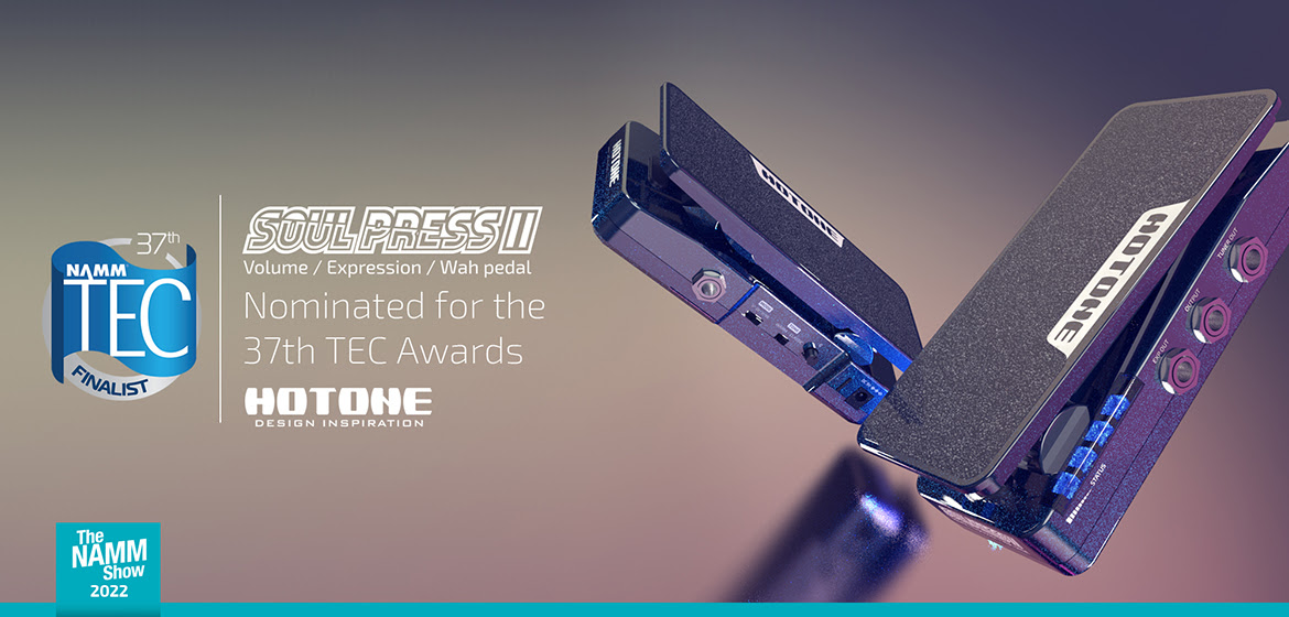 Hotone Soul Press II Nominated for the 37th TEC Awards