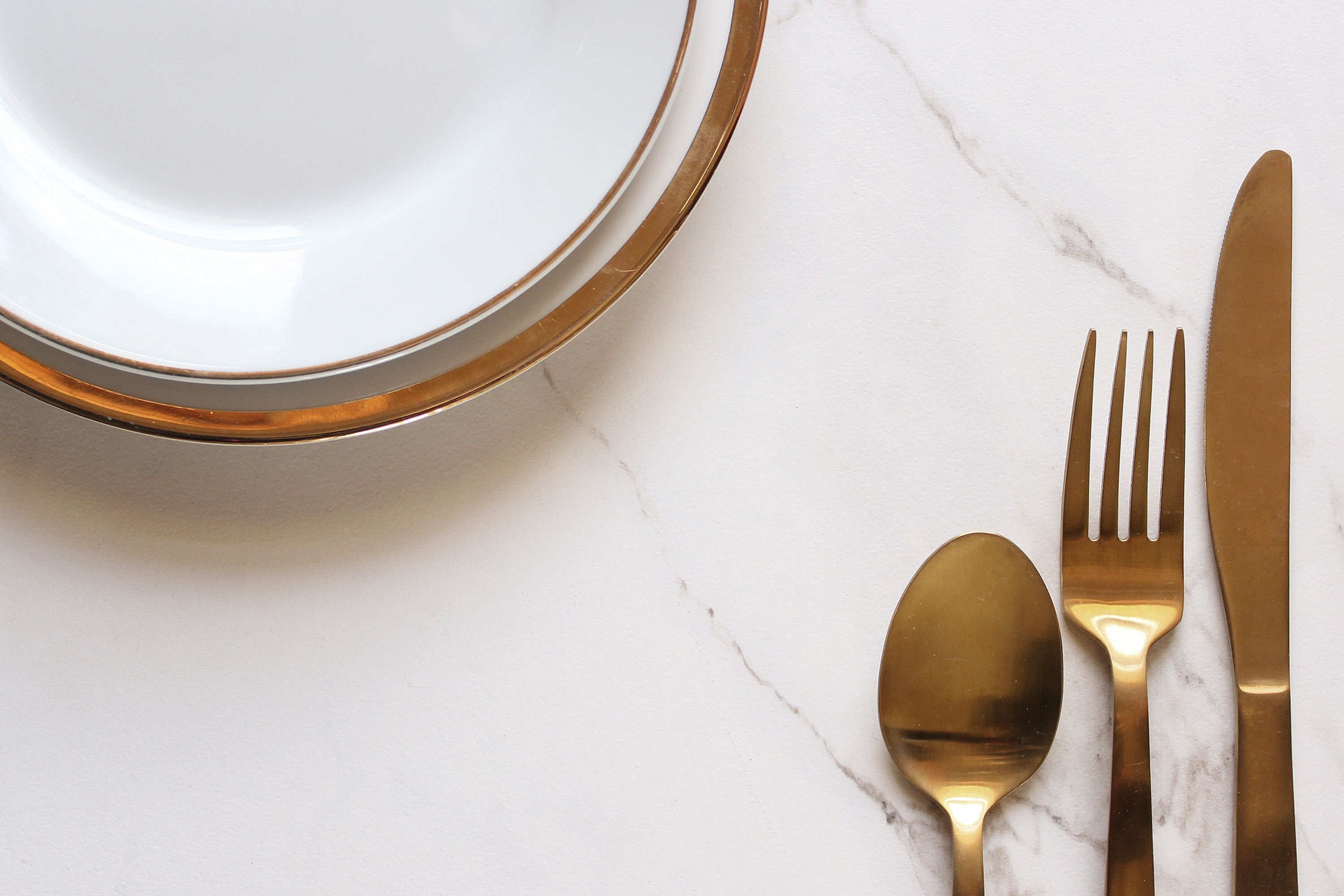 PVD coated tableware