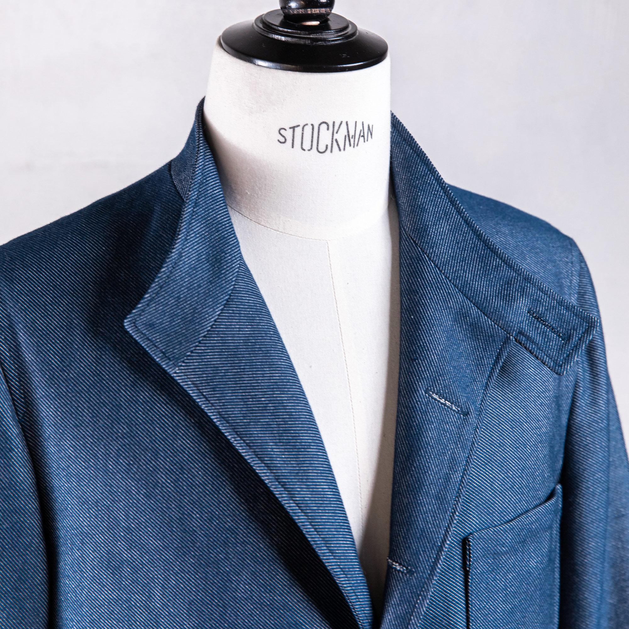 Blouson en jean bio made in France Caminel